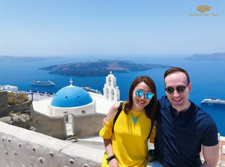 Santorini Highlights: 5-Hour Private Tour with Winery Experience