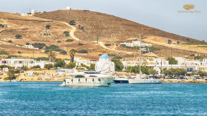 Mykonos to Antiparos Helicopter Flight