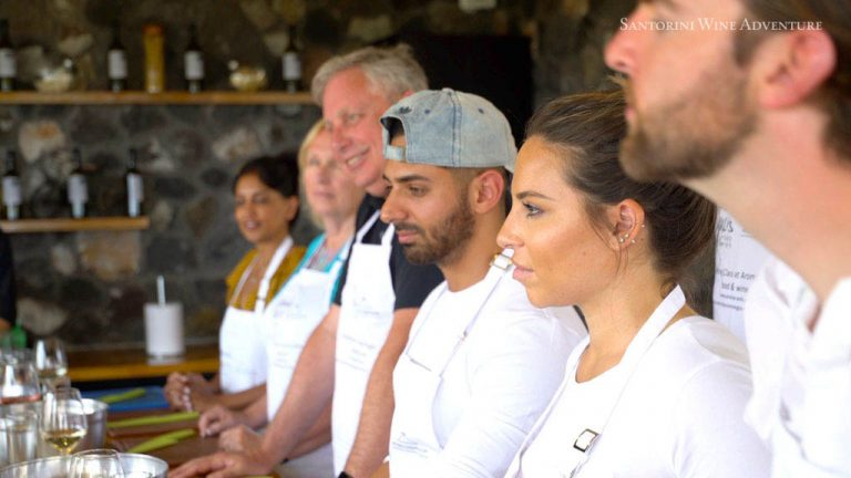 Private Tour: Santorini Cooking Class and Wine-Tasting Tour