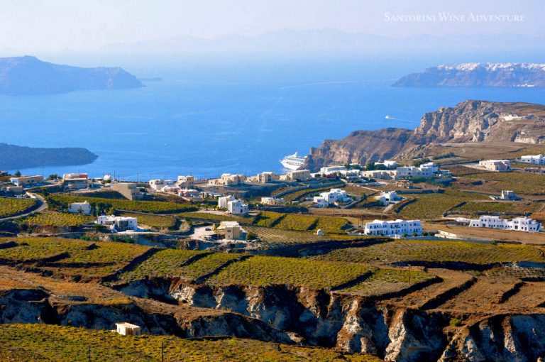 Great Wines and Famous Towns of Santorini