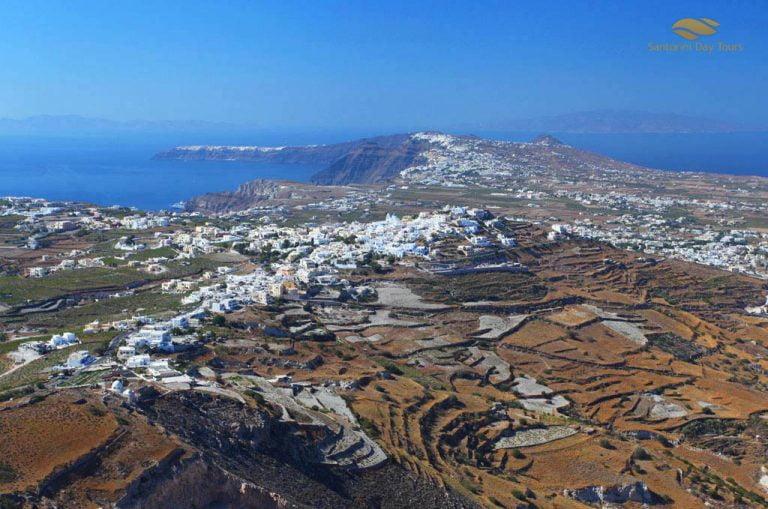 Crete to Santorini Helicopter Flight