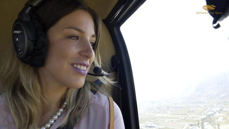 Mykonos to Folegandros helicopter flight