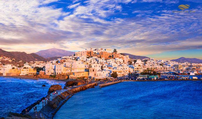 Mykonos to Naxos Helicopter Flight