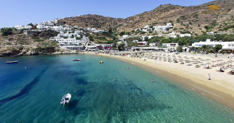 Mykonos to Ios Helicopter Flight