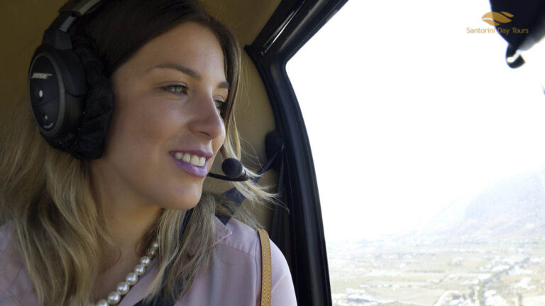 Naxos to Mykonos Helicopter Flight