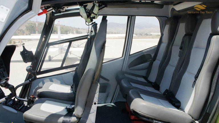 Santorini to Naxos Helicopter Flight