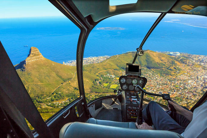 Mykonos to Crete Helicopter Flight