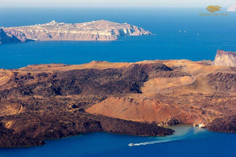 Mykonos to Santorini Helicopter Flight
